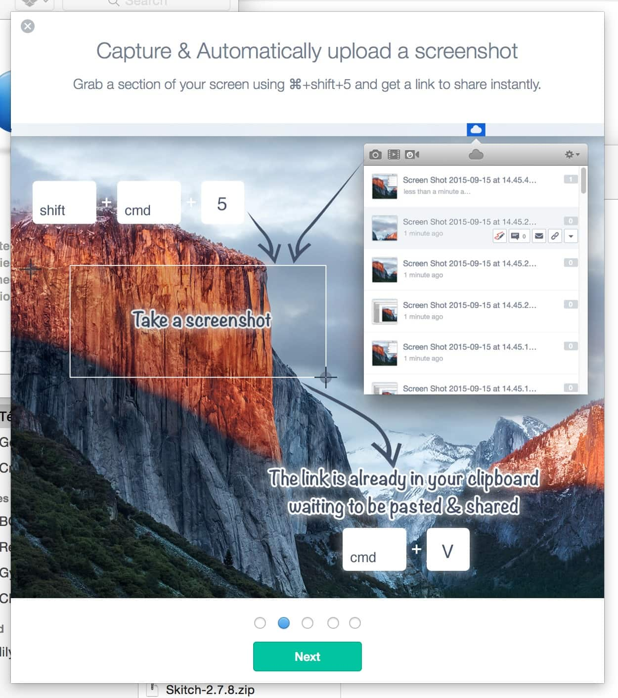 Onboarding by Mac OS X from UIGarage