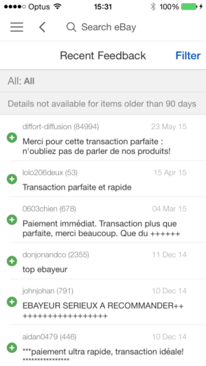 Reviews on iOS by eBay from UIGarage