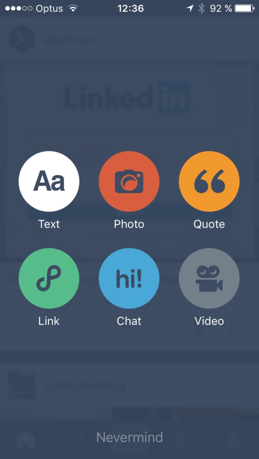 Create on iOS by Tumblr from UIGarage