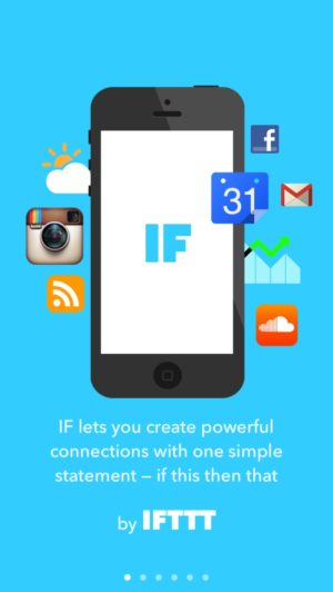 Onboarding on iOS by Ifttt from UIGarage