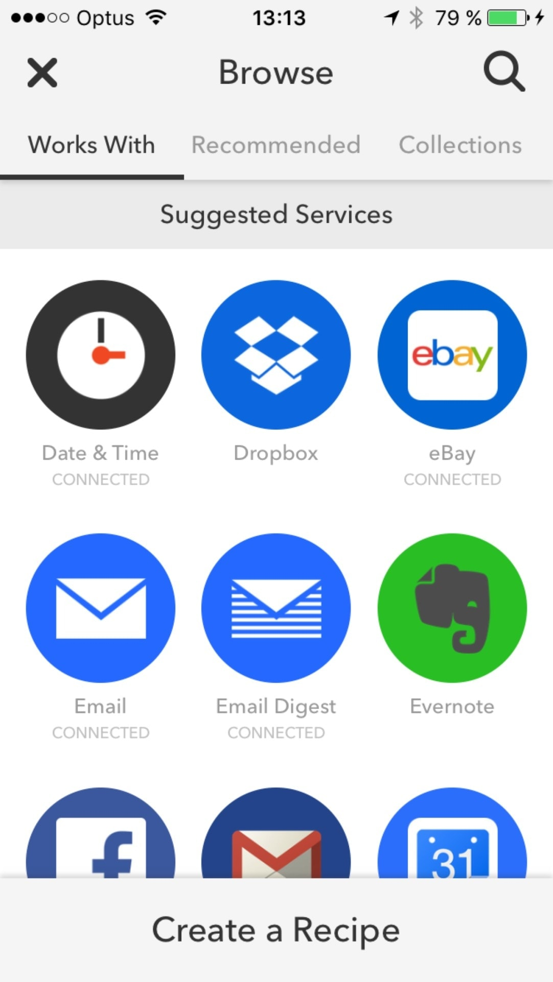 Browse on iOS by Ifttt from UIGarage