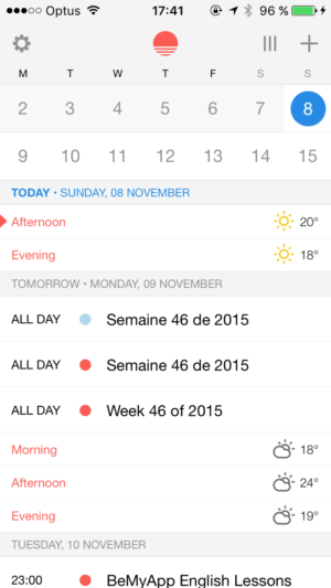 Create on iOS by Sunrise from UIGarage