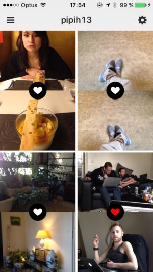 Feed on iOS by Frontback from UIGarage