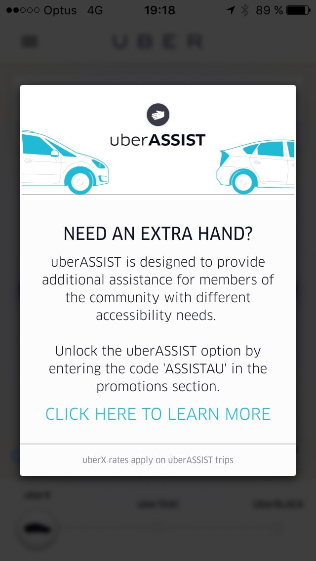 PopUp on iOS by Uber from UIGarage