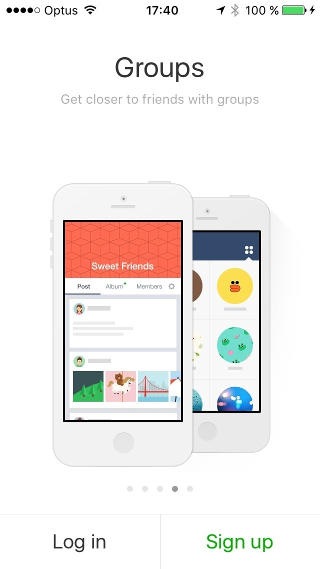Onboarding on iOS by Line App World from UIGarage
