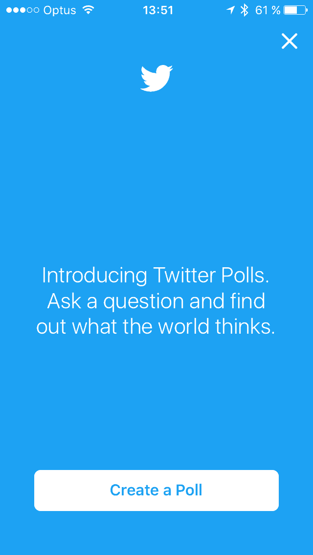New feature Screen on iOS by Twitter from UIGarage
