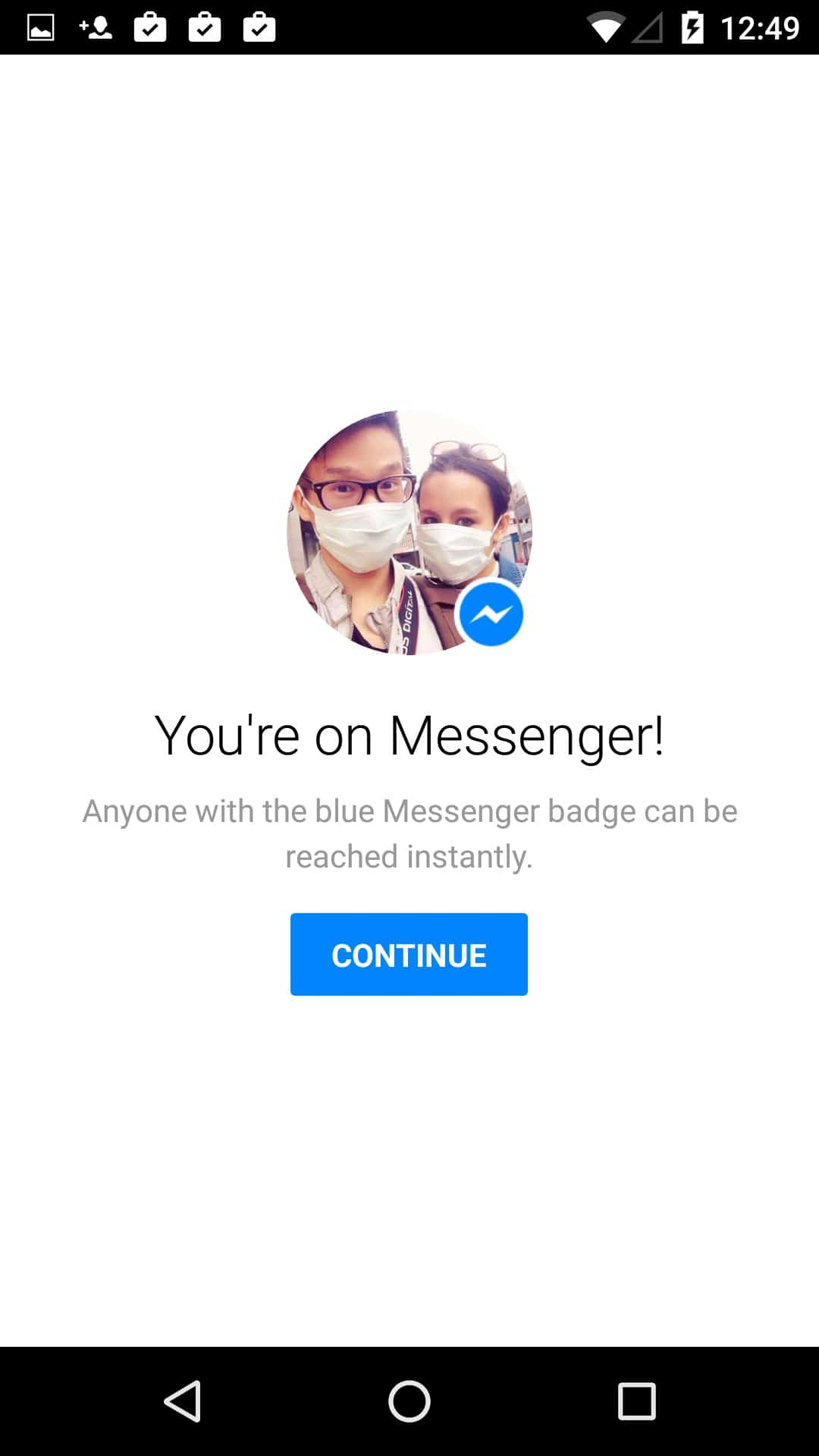 Tutorial messenger on Android by Messenger from UIGarage