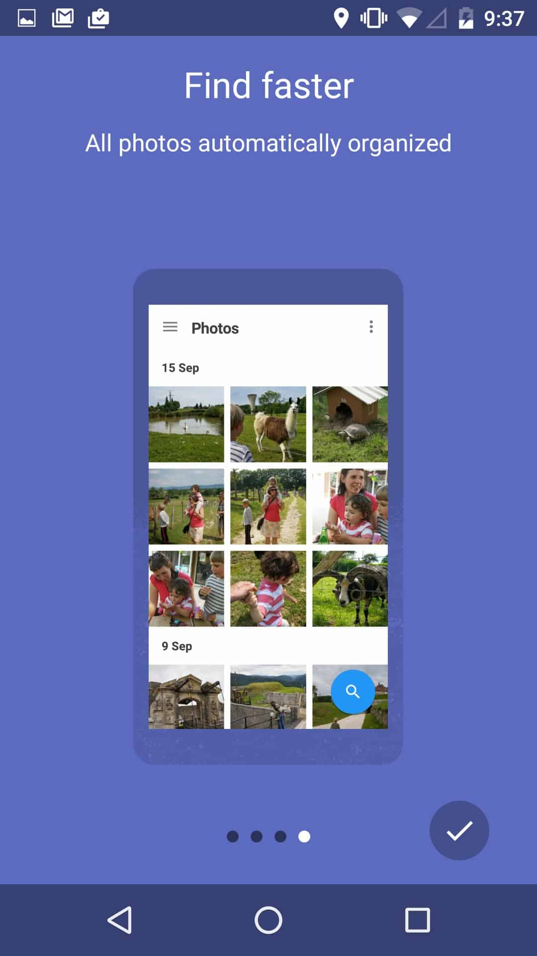 Walkthrough How to use on Andorid by Google Photos from UIGarage