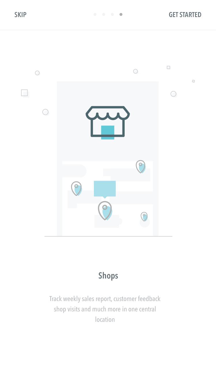 Onboarding on iOS by A Happy Phase from UIGarage