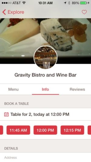Date picker on iOS by Opentable from UIGarage
