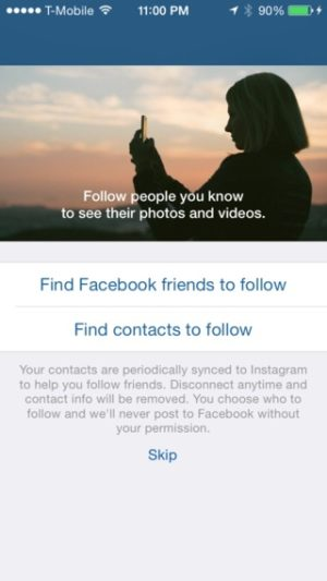 Ask permission on iOS by Instagram from UIGarage