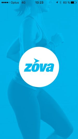 Launch screen on iOS by Zovafit from UIGarage