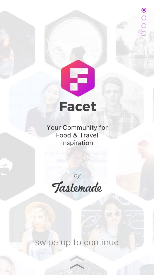 Vertical Onboarding by Facet Nation from UIGarage