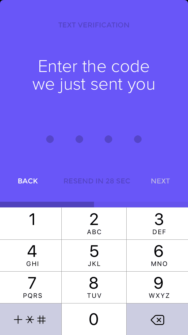 Signup onboarding on iOS by Heytribe from UIGarage