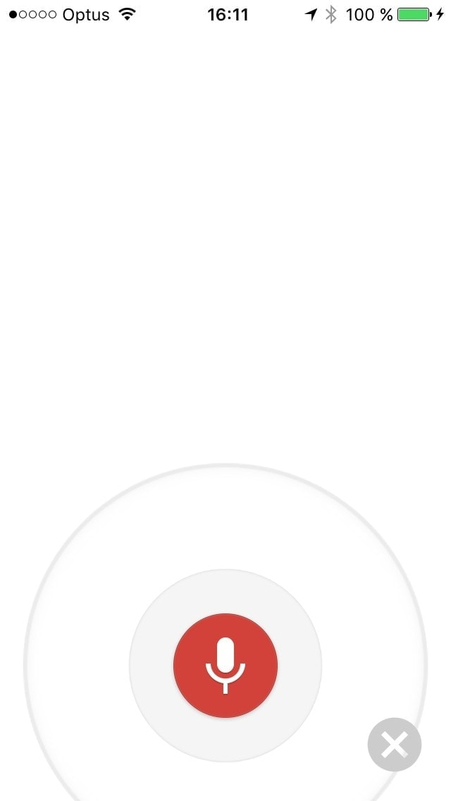 Recording voice screen  on iOS by Google Maps from UIGarage