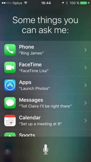 Suggestion on iOS by Siri Apple from UIGarage