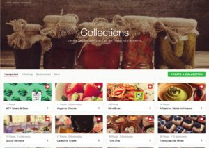 Browse collections by Zomato from UIGarage