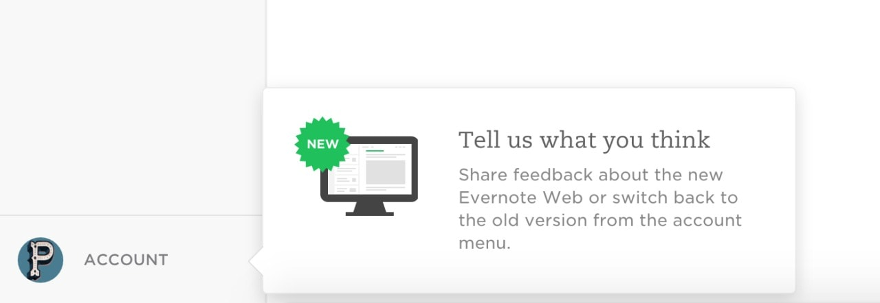 Tutorial bubble by Evernote from UIGarage