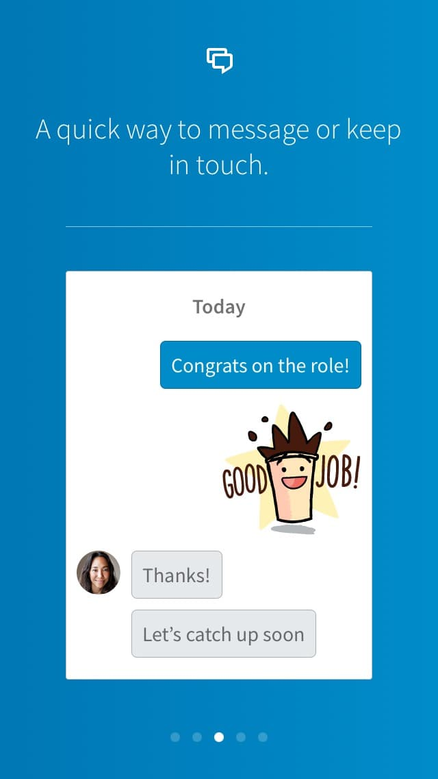 New Onboarding on iOS by Linkedin from UIGarage