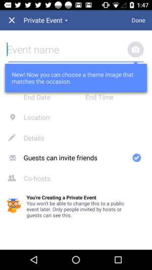 What's new bubble by Facebook from UIGarage