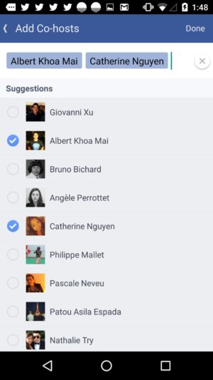 Checkbox on Invitees on Android by Facebook from UIGarage