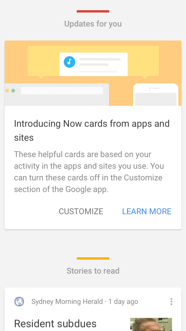 New feature on iOS by Google from UIGarage