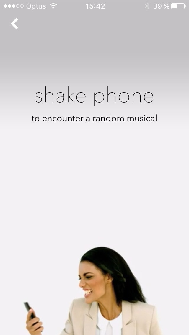 Tutorial screen on iOS by Musically from UIGarage