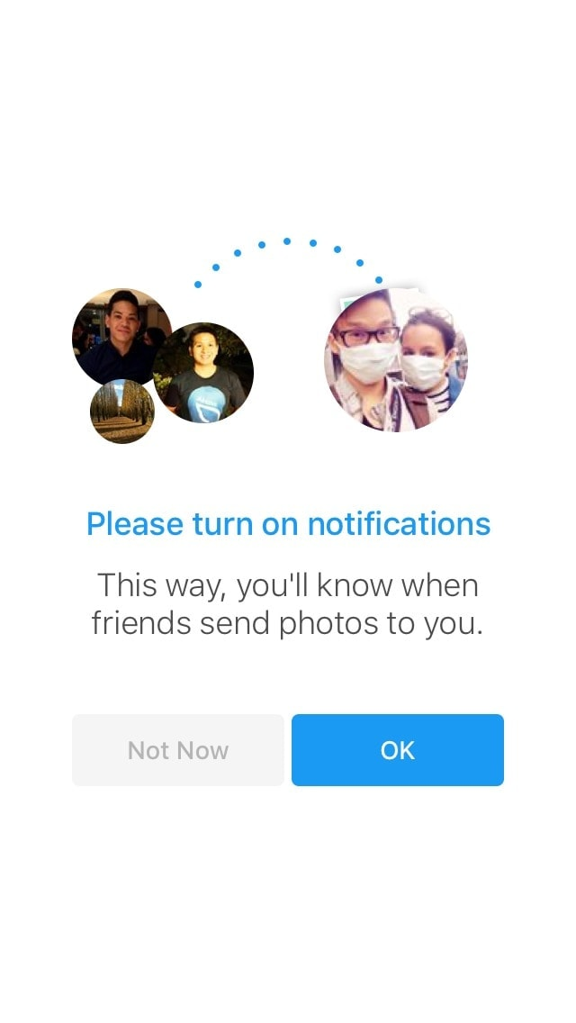 Ask for notification on iOS by Facebook from UIGarage