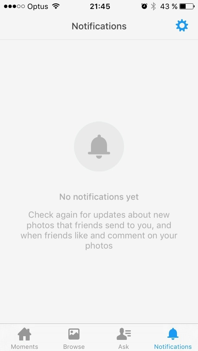 Empty states on iOS by Facebook from UIGarage