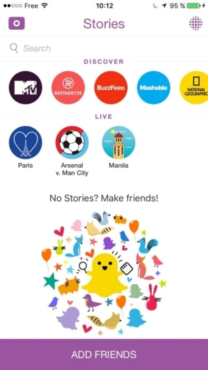 Empty States on iOS by Snapchat from UIGarage