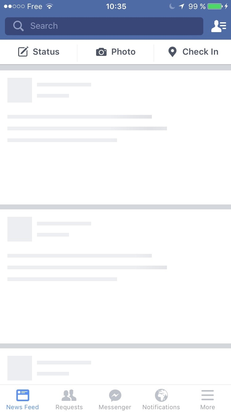 Loading States on iOS by Facebook from UIGarage
