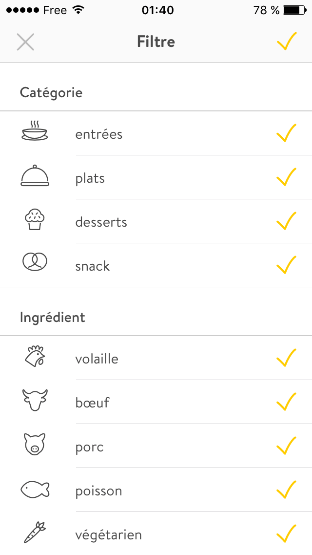 Checkbox on iOS by 1KitchenStories from UIGarage
