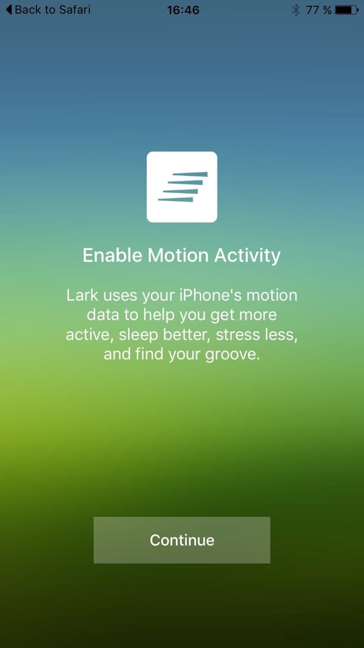 Motion permission on iOS by Ourlark from UIGarage