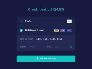 Great Checkout by Idiot from UIGarage