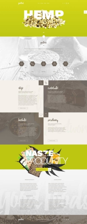 Landing Page by Good Food from UIGarage