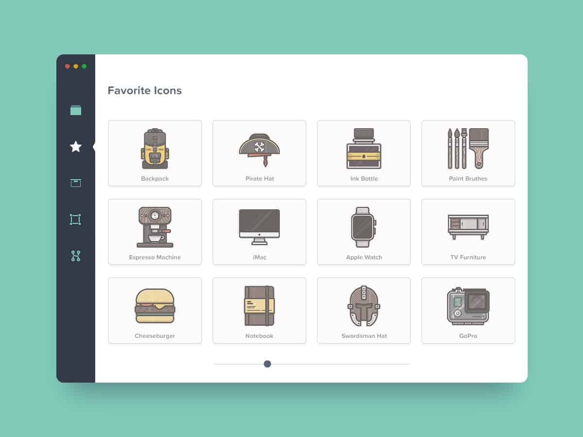 Beautiful Mac app Categories by Sergiu Radu from UIGarage