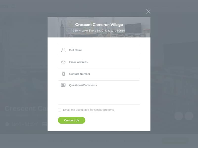 Contact form by KPdesigns from UIGarage