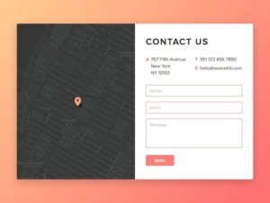 Contact forms by Rodkllr from UIGarage