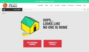 404 page by Pridebites from UIGarage
