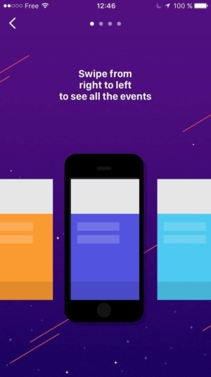 Onboarding on iOS by Wingit App from UIGarage