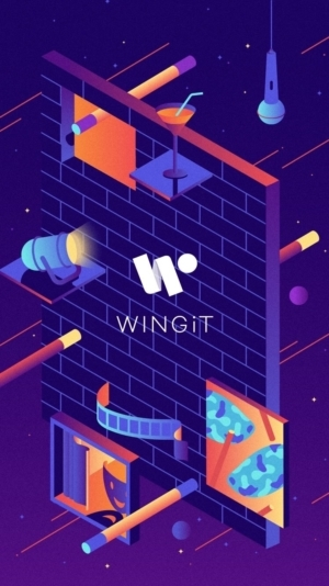 Launch Screen on iOS by Wingit App from UIGarage