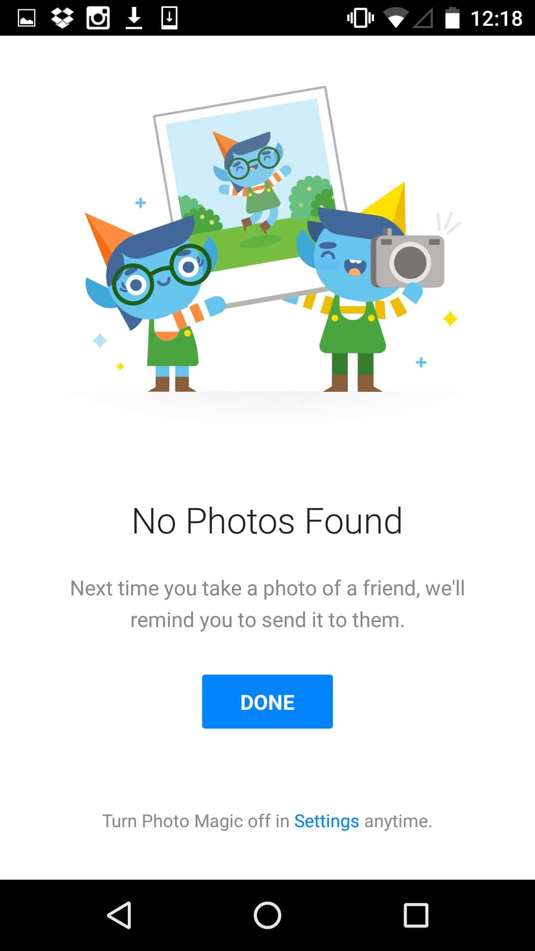 Empty state by Facebook from UIGarage