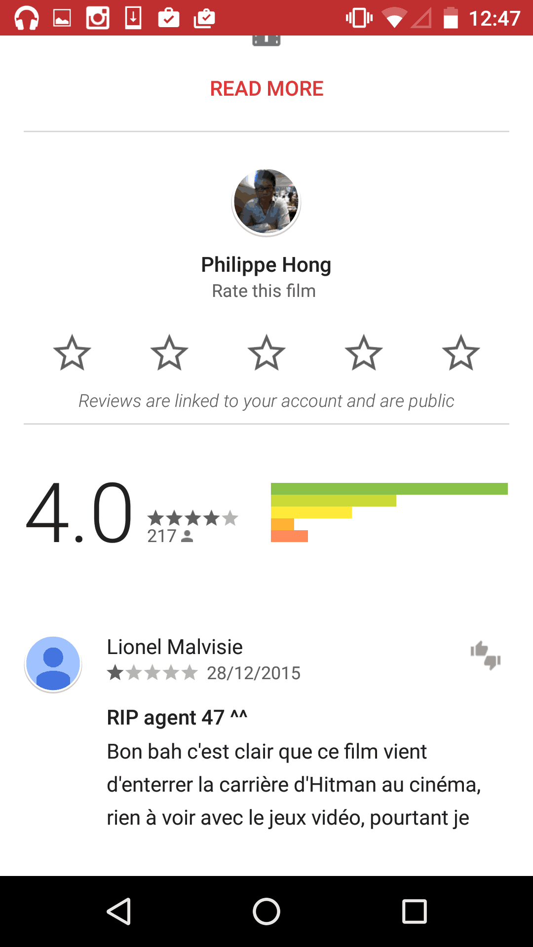 Reviews by Google Play from UIGarage