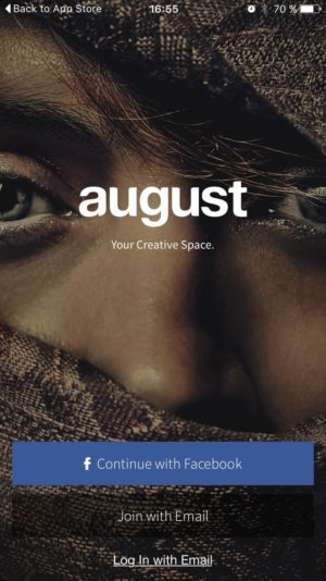 Login page by August from UIGarage