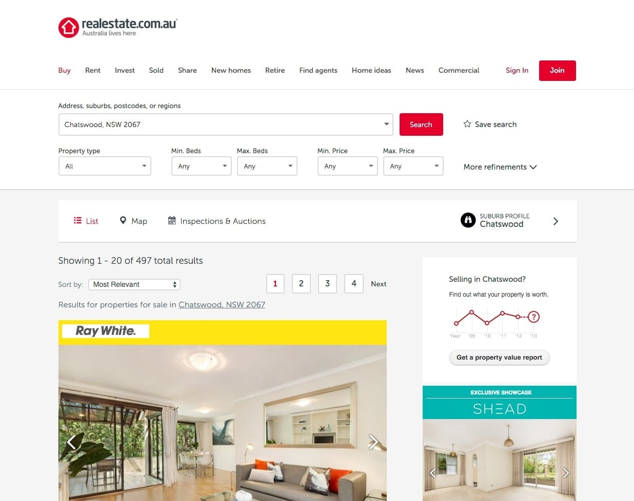 Directory filters by Realestateau from UIGarage