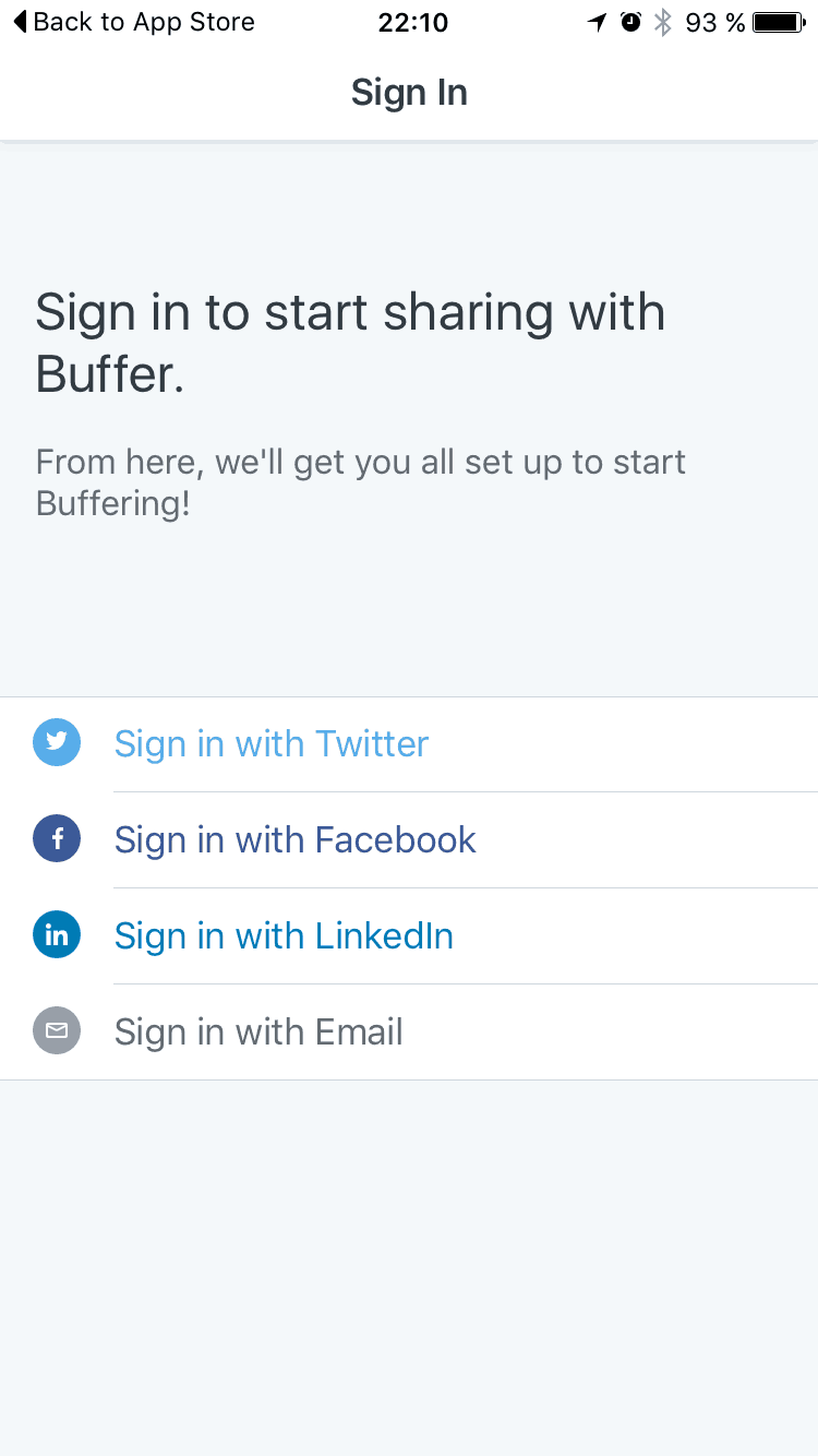 Onboarding by Buffer from UIGarage