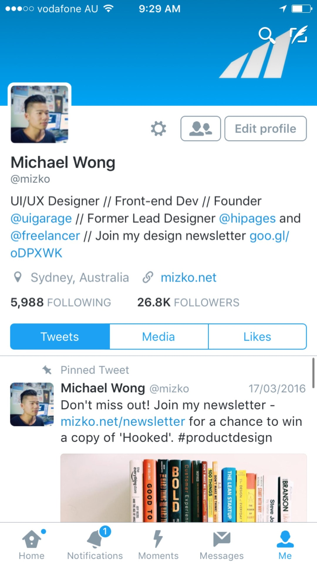 Tab bar by Twitter from UIGarage