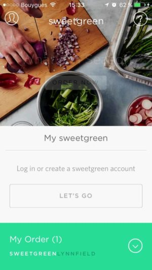 Login by Sweetgreen from UIGarage