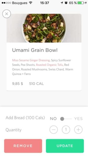 Cart by Sweetgreen from UIGarage