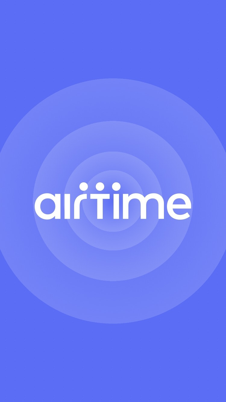 Launch Screen by Airtime from UIGarage